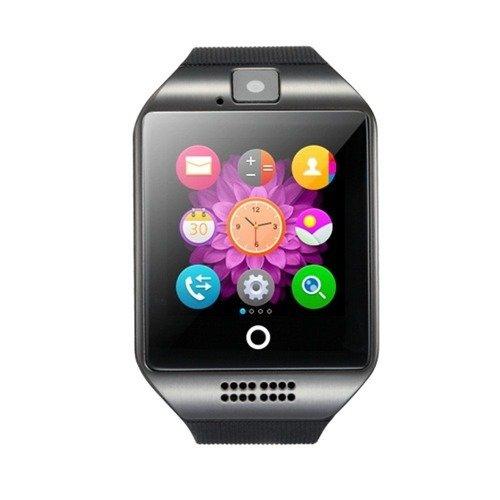 czarny smart watch