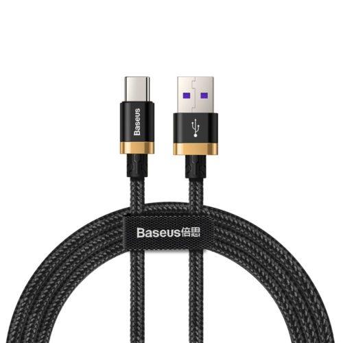 Kabel Baseus w nylonowym oplocie USB / USB-C Quick charge