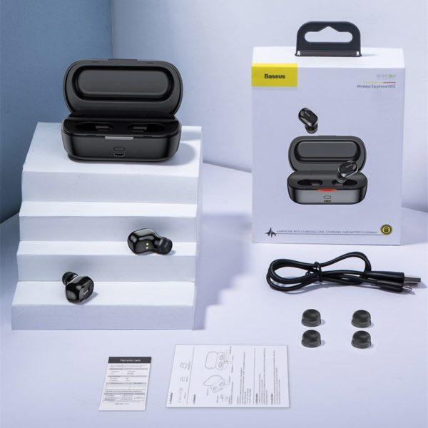Wodoodporne słuchawki bezprzewodowe Baseus