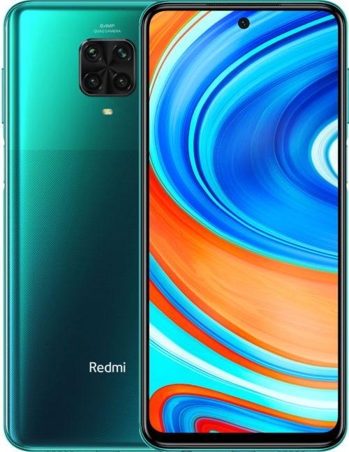 zielony xiaomi redmi 9 pro - smartfony